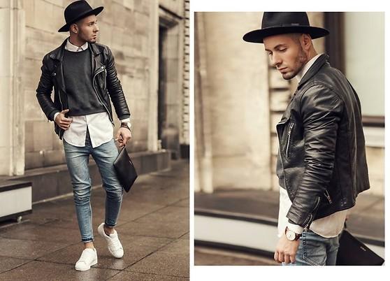 海外メンズファッションスナップ。ストリートカジュアルな冬のコーディネートいろいろ。